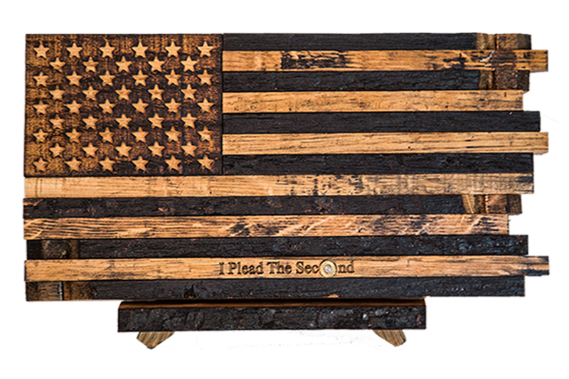 49543207213d Barrel Wood American Flags - Page 1 - The Heritage Flag Company