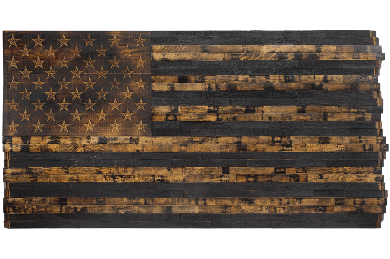 Barrel Wood American Flags Page 1 The Heritage Flag Company