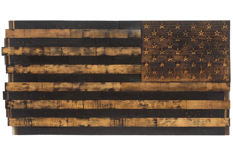 Barrel Wood American Flags Page 1 The Heritage Flag